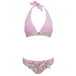 Animal Women's Pazia Halterneck Bikini - Pastel Pink
