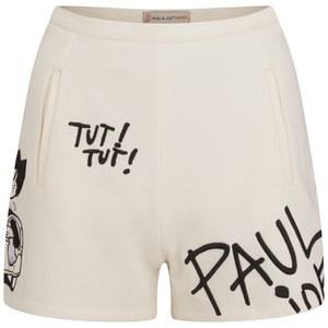Paul & Joe Sister Women's Tag Shorts - Ecru