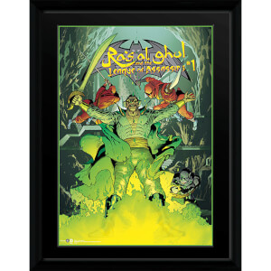DC Comics Ras Al Ghul - 16 x 12 Framed Photgraphic
