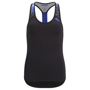 Myprotein Damen Racer Back Scoop Top mit Support - Schwarz