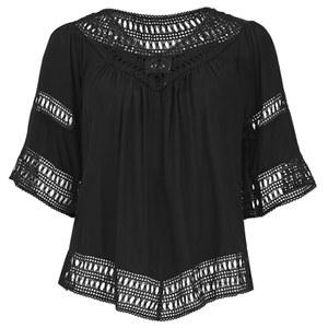 VILA Women's Magus Top - Black