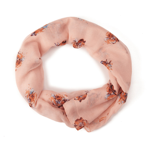 Vero Moda Women's Yin Tube Scarf - Tropical Peach