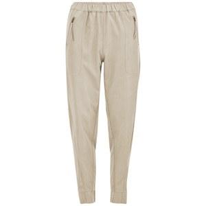 Vero Moda Women's Indi Loose Trousers - Oatmeal