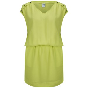 Vero Moda Women's Village Dress - Sunny Lime