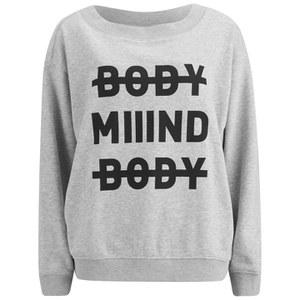 Cheap Monday Women's Extend Sweatshirt - Light Grey Melange