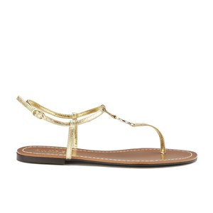 Lauren Ralph Lauren Women's Aimon Leather Sandals - Rl Gold