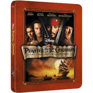 Pirates of the Caribbean: The Curse of the Black Pearl - Zavvi UK Exclusive Limited Edition Steelbook (3000 Only)