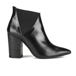 H Shoes by Hudson Women's Crispin Heeled Ankle Boots - Black