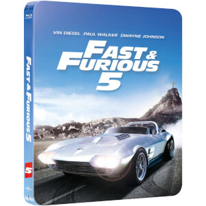 Fast Five - Zavvi UK Exclusive Limited Edition Steelbook (Limited to 2000 Copies and Includes UltraViolet Copy)