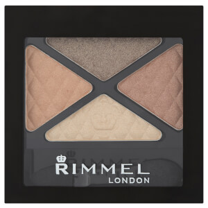 Rimmel Glam Eyes Quad Eyeshadow - солнечное сафари
