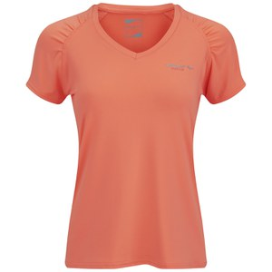 Gola Women's Felix Short Sleeve Training T-Shirt - Fluoro Coral