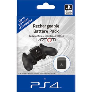 PS4 Rechargeable Battery Pack - Black
