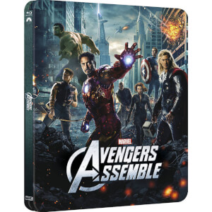 Avengers Assemble 3D (Includes 2D Version) - Zavvi UK Exclusive Lenticular Edition Steelbook