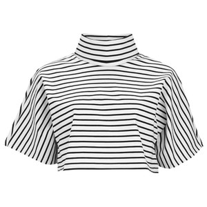 The Fifth Label Women's Lonely Sea Top - White/Black