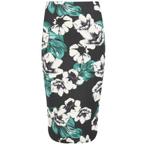 The Fifth Label Women's Sleepwalker Midi Skirt - Dark Jungle