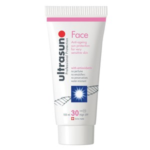 Ultrasun Professional Protection Face Anti-Ageing For Very Sensitive Skin 30 Høy Solfaktor 100 ml