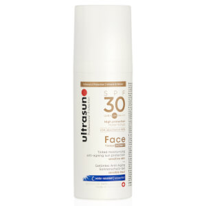 Creme Facial 30 FPS Tinted da Ultrasun (50 ml)