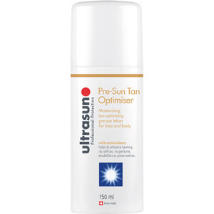 Optimizador de bronceado pre-exposición de Ultrasun (150 ml)