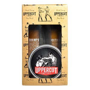 Kit para hombre Uppercut Deluxe Matt Clay Combo