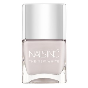 Nails inc. Esmalte de uñas White Horse Street The New White (14 ml)