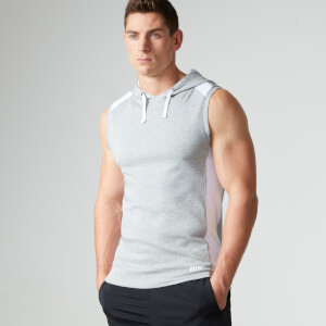 Myprotein Men's Hood Singlet - Grey