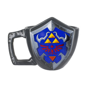 Tasse 3D The Legend of Zelda Édition Collector - Bouclier
