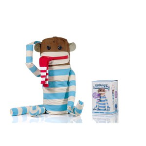Sock Monkey Laundry Bag