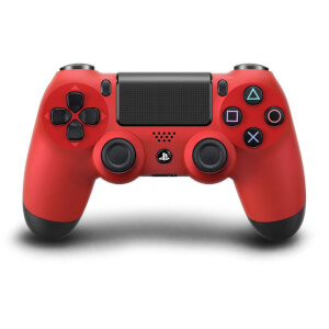 Manette PlayStation DualShock 4 - Rouge