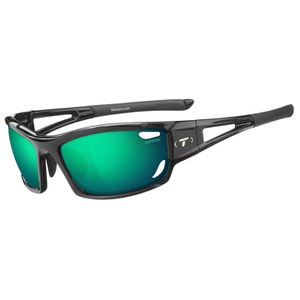 Tifosi Dolomite 2.0 Interchangeable Sunglasses - Gloss Black/Clarion Green