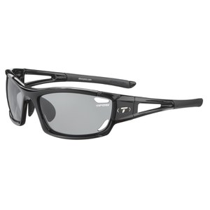 Tifosi Dolomite 2.0 Interchangeable Sunglasses - Gloss Black/Fototec Light Night