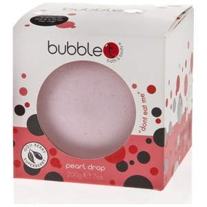 Perla de baño con hibisco y té de bayas de açai Bath and Body Pearl Drop de Bubble T (180 g)