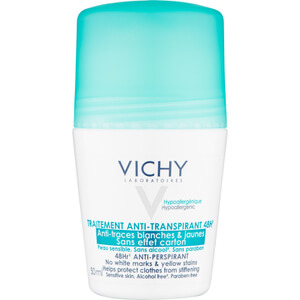Vichy Deodorant No Marks Roll-On 50ml.