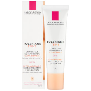 La Roche-Posay Toleriane Teint Fluid Foundation 10 Ivory 30 ml