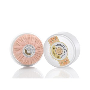 Roger&Gallet Tea Rose Round Soap in Travel Box 100g