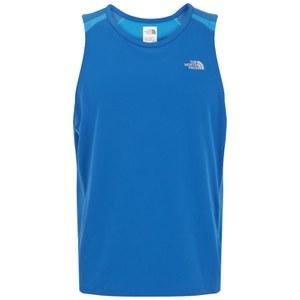 The North Face Men's GTD Running Singlet - Snorkal Blue/Quill Blue