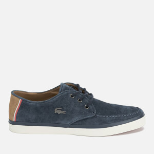 Lacoste Men's Sevrin 7 Suede Lace Up Shoes - Navy