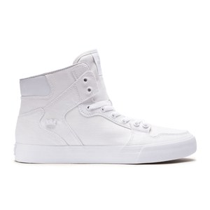 Supra Men's Vaider High Top Trainers - White