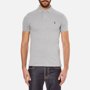 Polo Ralph Lauren Men's Slim Fit Short Sleeved Polo Shirt - Andover Heather