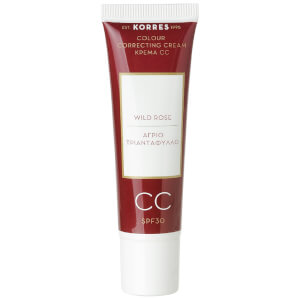 Crema CC Wild Rose de KORRES - Light SPF30 (30 ml)