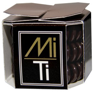 MiTi Professional Hair Tie - Dark Chocolate (3pc).