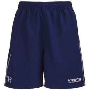 Under Armour Men's Elite Shorts with Zip, Blue