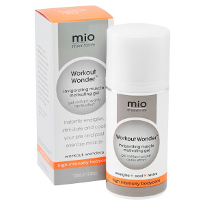 Gel muscular revitalizante y estimulante Mio Skincare Workout Wonder Invigorating Muscle Motivating Gel (100ml): Image 2