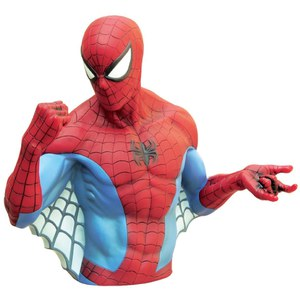 Marvel Spider-Man Bust Bank