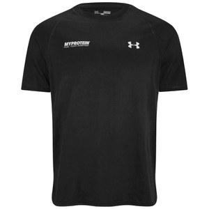 Мужская футболка Under Armour® Tech™ - цвет Черный/Белый