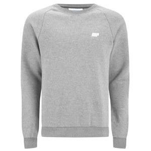 Myprotein Men's Crew Neck Sweatshirt – Grey Marl