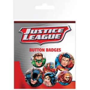 Lot de Badges Justice League Group - DC Comics