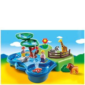 Playmobil 1.2.3 Take Along Zoo and Aquarium (6792)