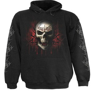 Spiral Men's GAME OVER Hoody - Black