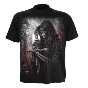 T-shirt Spiral Soul Searcher - Noir