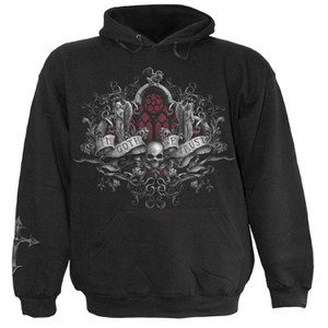 Spiral Men's IN GOTH WE TRUST Hoody - Black